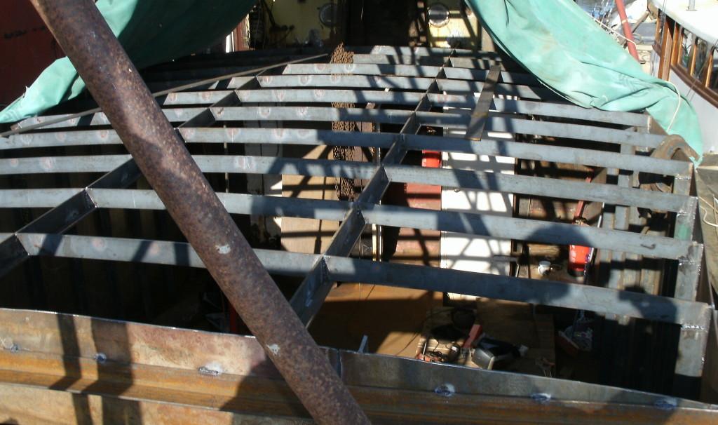 Deck beams